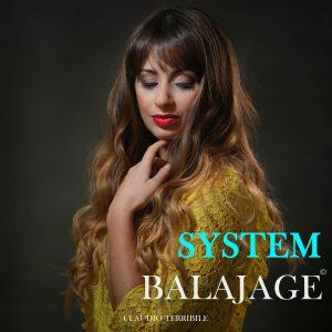 BOOK SYSTEM BALAJAGE-Universidad de la Imagen, Claudio Terribile, Portada