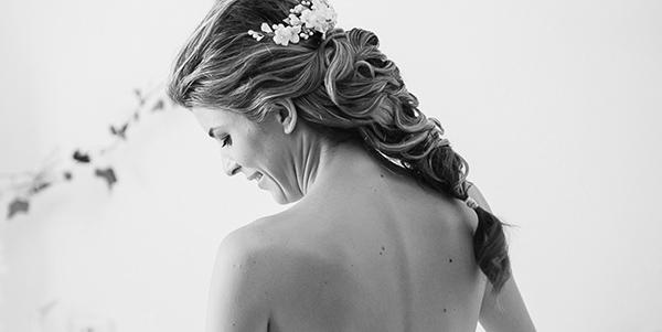 peinados novias trenzas
